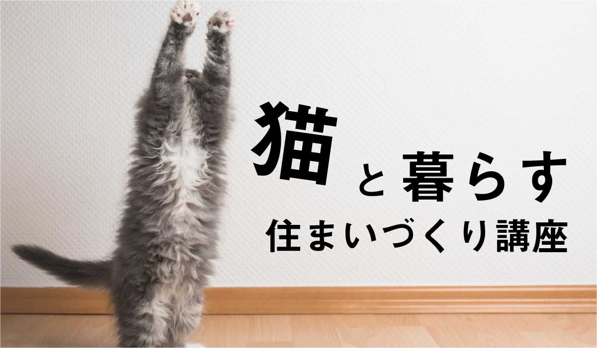 猫と暮らす住まいづくり講座