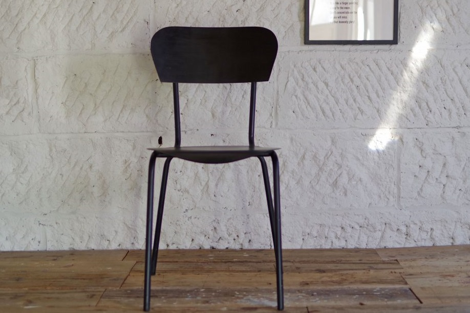 AN IRON CHAIR