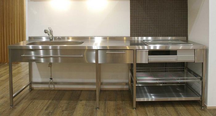 stainless kitchen ih